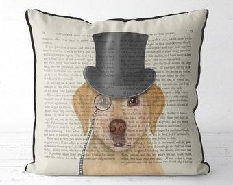Yellow Labrador pillow cover Yellow Labrador cushion yellow lab pillow yellow lab cushion Yellow lab gift labrador gift idea cute pet gift