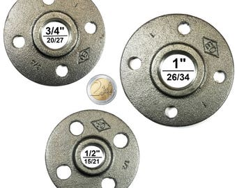 Professional quality (15/21, 20/27, 26/34) DIY floor flange