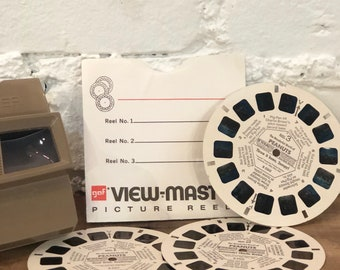 Vintage View-Master Stereo Reels - The Wonderful World of Peanuts