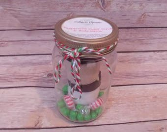 Holiday Gift set Sugar scrub and whipped body butter