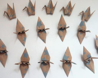 Set of origami cranes: Stars Collection