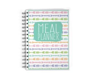 Meal Planner Notebook - Meal Prep - Arrows
