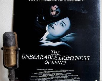 "The Unbearable Lightness Of Being Soundtrack LP Stage & Screen Leos Janacek music ""The Unbearable Lightness Of Being"""
