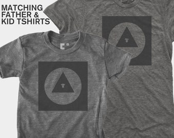 Dad and Me Matching Shirts - Bauhaus Eye