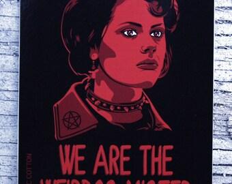 """Craft, The """"Nancy"""" Vinyl Sticker 3 in x 4 in"""