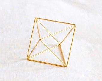 Himmeli Oktaeder 3 Größen. Raumluft Pflanzer und Dekor