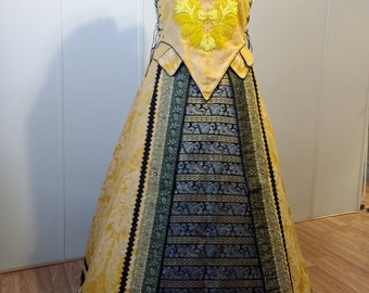 Spanish Style Renaissance Gown