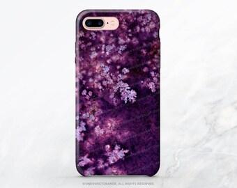iPhone X Case iPhone 8 Case iPhone 7 Case Purple Dendrite iPhone 7 Plus Case iPhone SE Case Tough Samsung S8 Plus Case Galaxy S8 Case T79