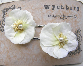 Little Viola Clips - Ivory