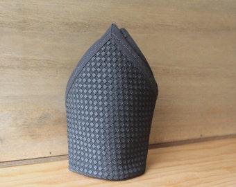 Pañuelo de bolsillo - Grey smart. Pañuelo de bolsillo hecho a mano con tela de algodón de gran calidad.