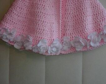 Pink Wool cloak
