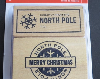 One Week Sale - Back In Stock & Going Fast! - Pebbles -  North Pole Stamps