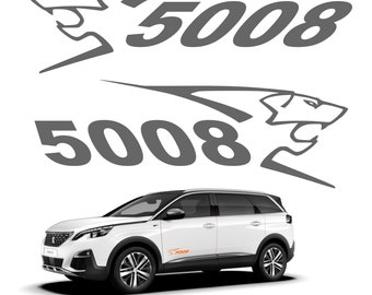 Set of 2 stickers stickers Peugeot 5008