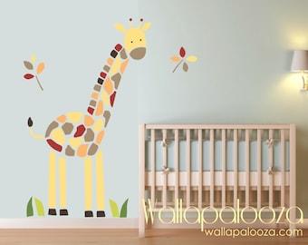 Giraffe Wall Decal - Nursery Wall Art - Giraffe wall art - Kids room - Baby room giraffe decal - Giraffe - Nursery wall decal - Nursery