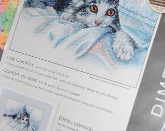 CAT COMFORT - Cross Stitch Kit