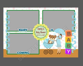 Baby Shower Po Booth Templates   50 Offbaby Shower Photo Booth Templateinstant