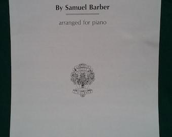 Adagio for Strings by Samuel Barber