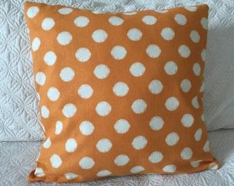 DECORATIVE PILLOW-Orange Spot (J)