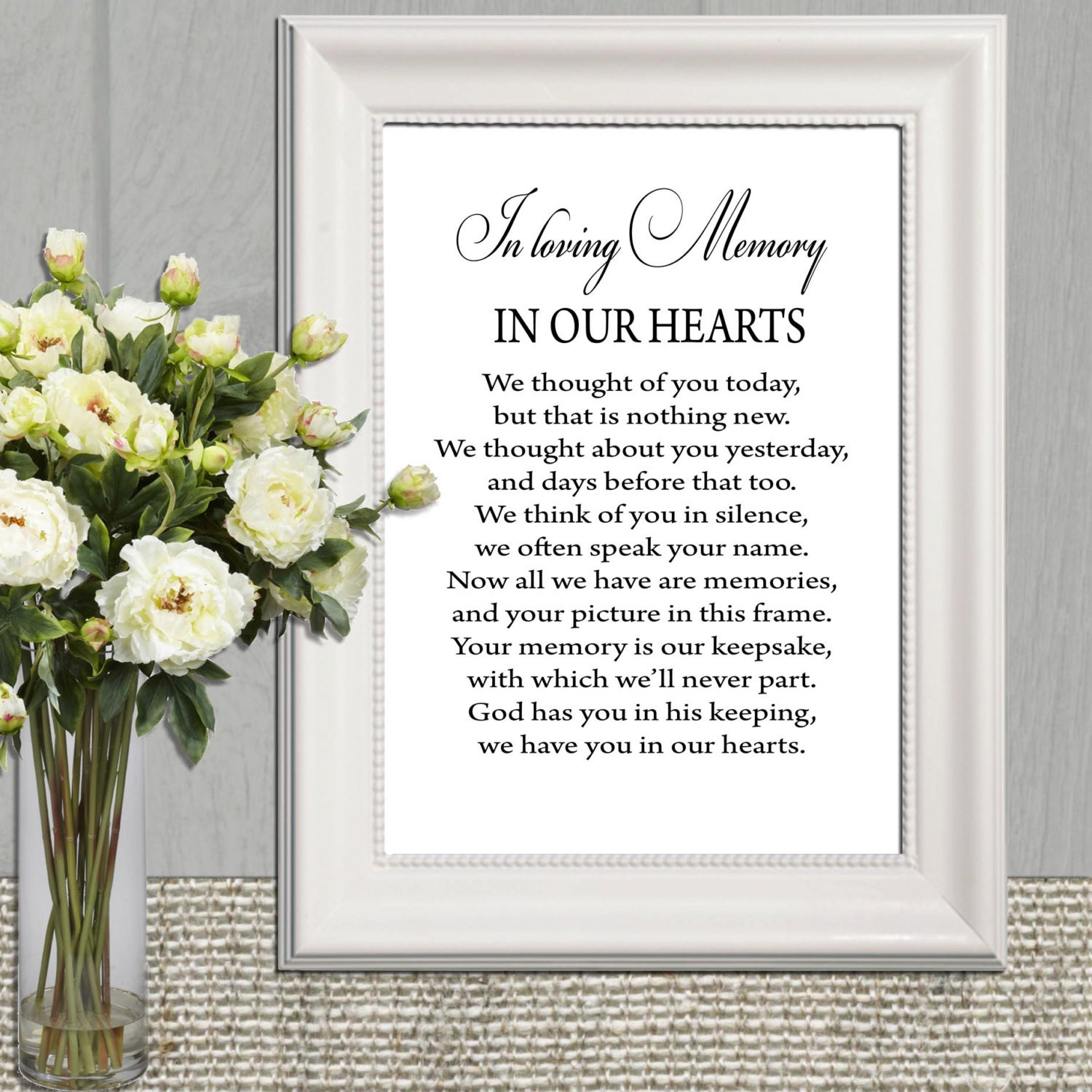 In Loving Memory Quotes Wedding Memorial Table In Loving Memory Printable Memorial