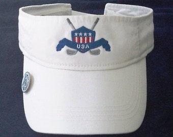 Patriotic Golf Visor