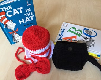 Dr Seuss Cat In The Hat Baby Costume