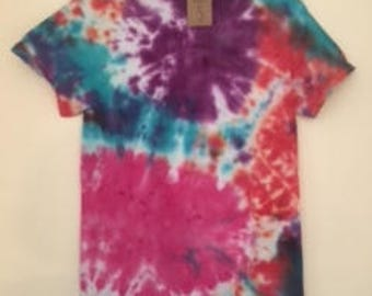 Adult S Tie Dye T-Shirt