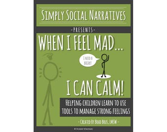 Social Story - When I Feel Mad I Can Calm!