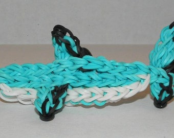 Rainbow Loom Shark