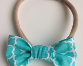 Headband with loop