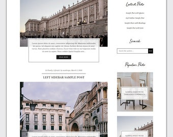 Jenessa plus - Ecommerce - Responsive Wordpress Theme - Genesis Child Theme - Wordpress Blog Theme