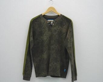 Katharine Hamnett Shirt Katharine Hamnett Camo Shirt Cut & Sewn Made in Japan Womens Size L