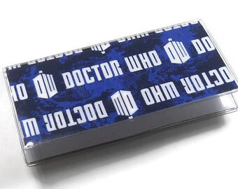 Checkbook Cover Dr Who Logo