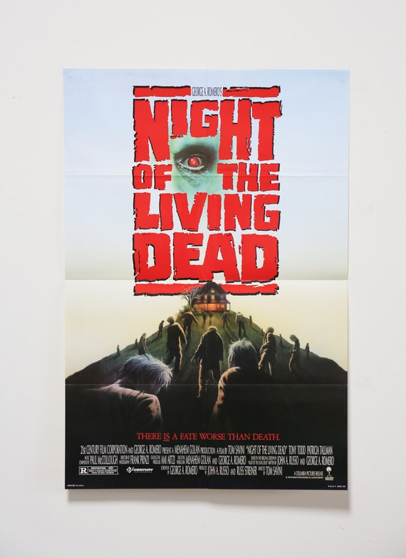 Original Theatrical One Sheet Film Poster - Night of the Living Dead