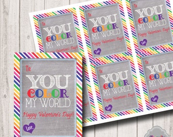 Color My World Valentine - Val006