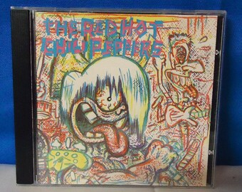 "042618 07 Used The Red Hot Chili Peppers ""The Red Hot Chili Peppers"" CD EMI Manhattan CDP 7 90616-2"