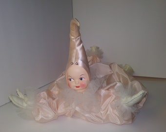 Vintage 1950's Kitsch Pixie Elf Poseable Bed Doll