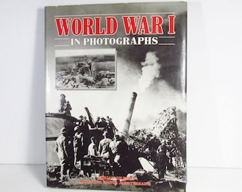 World War 1 in photographs 1986 Military Press coffee table book