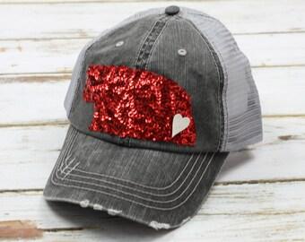 Nebraska Hat State of Nebraska Football