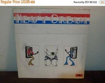 Save 30% Today Vintage 1972 Vinyl LP Record Cream Heavy Cream Very Good Condition 13291
