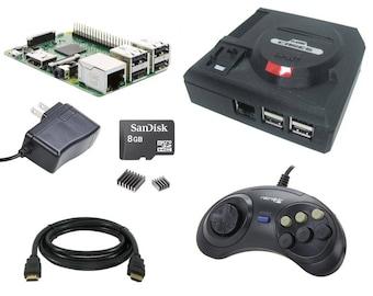 Sega Genesis Mini Classic Case Raspberry Pi Kit