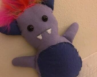 Purple Monster Plush