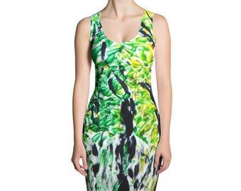 Seasons Trees Sublimation Cut & Sew Dress