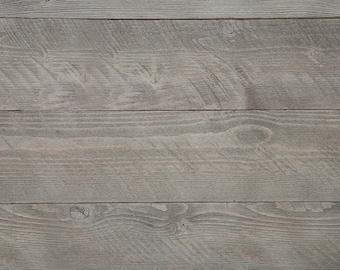 WoodyWalls Self-adhesive, Wood Wall Panels. (19.5 sq. ft. per box) Natural Gray