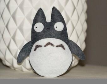 Mini Totoro plush felt