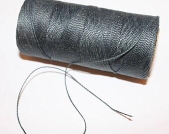 5 meters deep grey polyester yarn