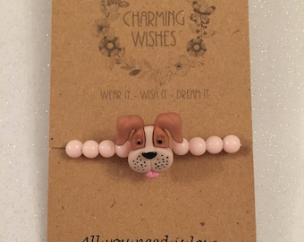 Dog Love Charm Bracelet