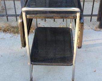 Vintage  Retro Rolling Serving Cart