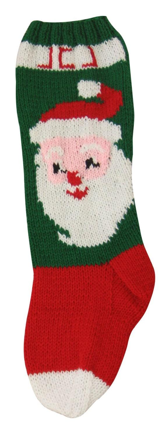 Santa Claus PATTERN Santa Claus Knit Pattern Christmas
