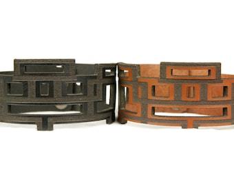 Premium Italian Leather Cuff - The Skinny Plaza