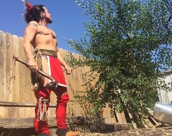 Made to order Wool leggings native american made pow wow regalia mountain man